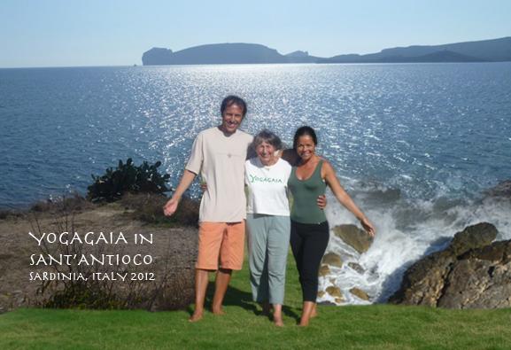 Yogagaia in Sant'Antioco, an island off the island