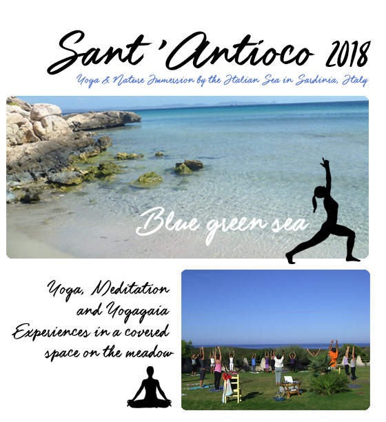 Picture of Sant'Antioco, Sardinia, Italy, Yoga and nature immersion: