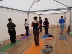 pictures of Cheneil Yogagaia workshop