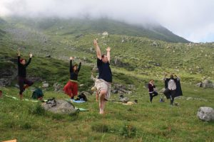 pictures of Cheneil Yogagaia in the Alps
