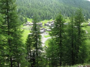 Pictures of Cheneil - Village in Valley d'Aosta