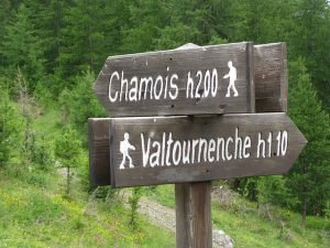 pictures of Cheneil Hiking junction point