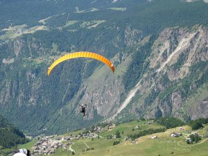 pictures of Cheneil Paragliding
