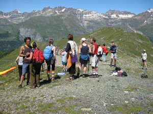 Pictures of Cheneil - Hiking in group