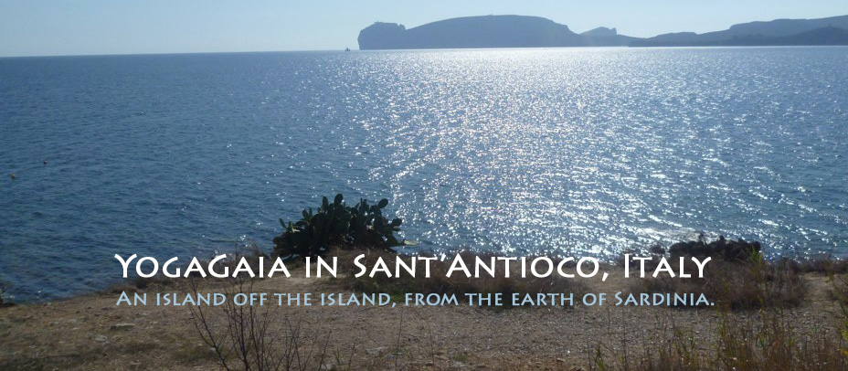 Yoga vacation in Sant'Antioco