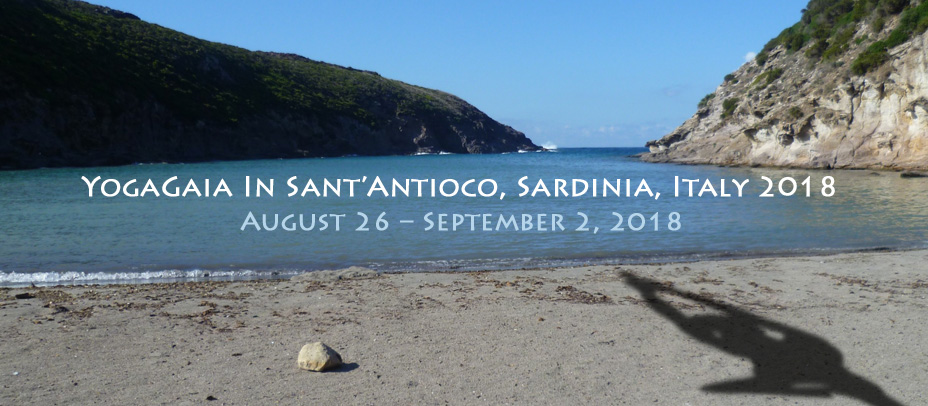 Picture of a beach, Sant'Antioco, Sardinia, Italy, Yoga and nature immersion: