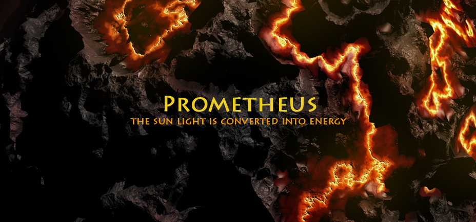 Prometheus, the light is converted into energy, Yogagaia's sessions